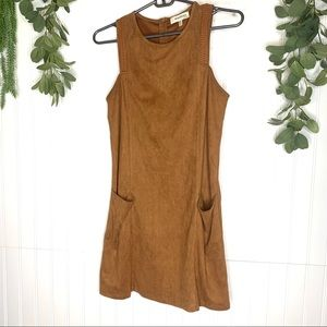 Monteau brown dress